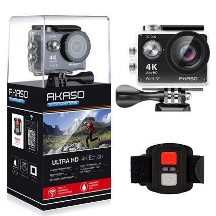 AKASO EK7000 4K, best action camera, best 4k action camera, best gopro camera