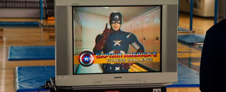 Captain America Spider-Man, Spider-Man Homecoming trailer, Spider-Man Homecoming scene