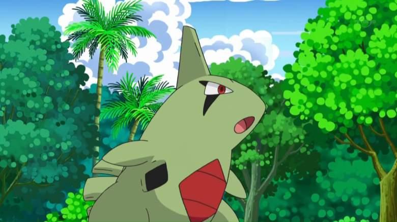 Larvitar pokemon go, Larvitar pokemon, Larvitar pokemon anime