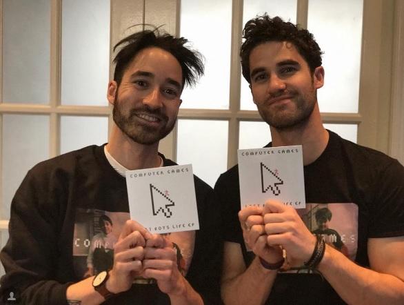 Darren Criss brother, Chuck Criss, Darren Criss Isntagram