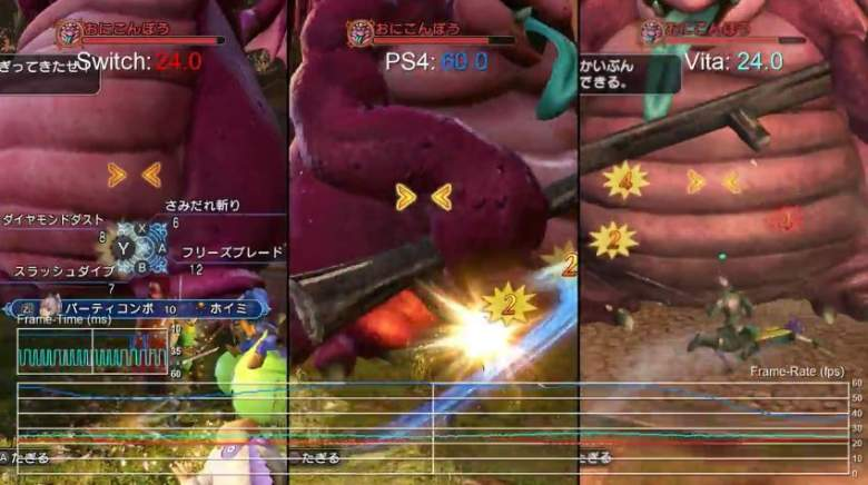 Dragon Quest Heroes 2, Switch, PS VIta, PS4