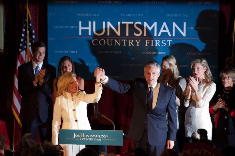 Jon Huntsman family, Jon Huntsman daughter, Jon Huntsman primary night