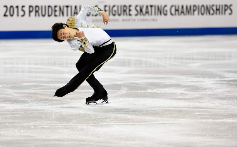 Nathan Chen, Nathan Chen figure skating, Nathan Chen ice skating, figure skating, men's figure skating, U.S. figure skating