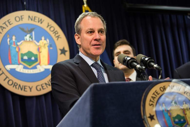 Eric Schneiderman press conference, Eric Schneiderman new york attorney general, Eric Schneiderman press conference