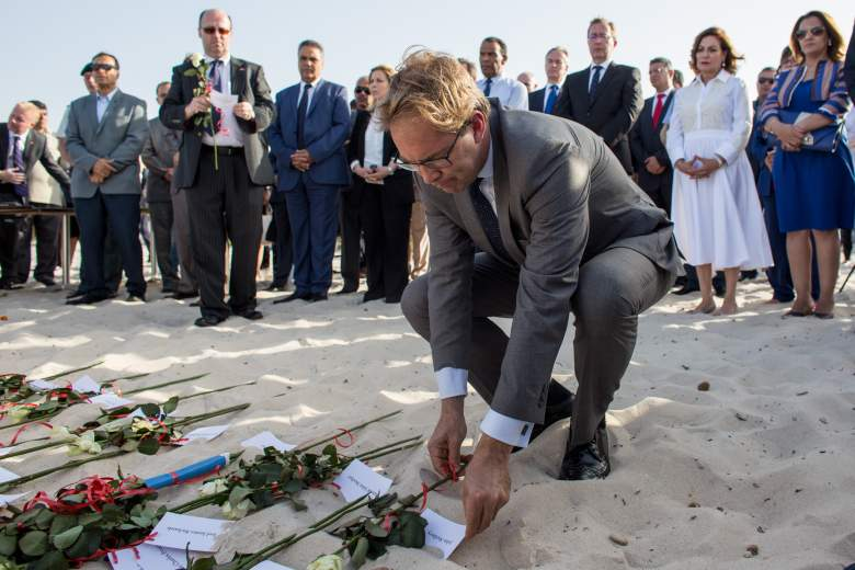 Tobias Ellwood, Tobias Ellwood memorial, Tobias Ellwood Sousse beach