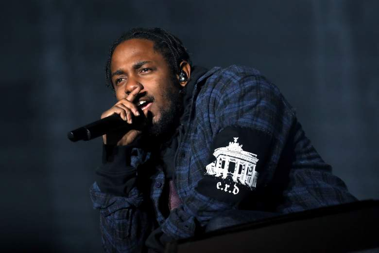 AUSTIN, TX - OCTOBER 01: Recording artist Kendrick Lamar performs on the Samsung Stage during day two at Austin City Limits Music Festival 2016 at Zilker Park on October 1, 2016 in Austin, Texas. (Photo by Rick Kern/Getty Images for Samsung)