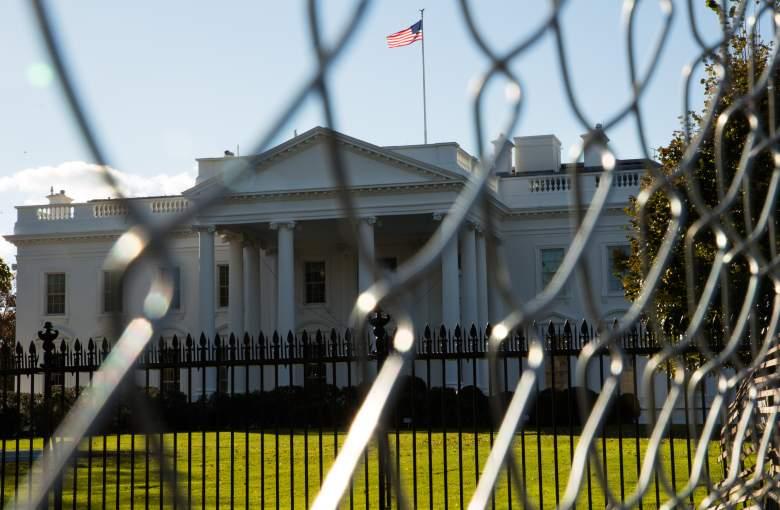 The White House, The White House fence, The White House perimeter fence