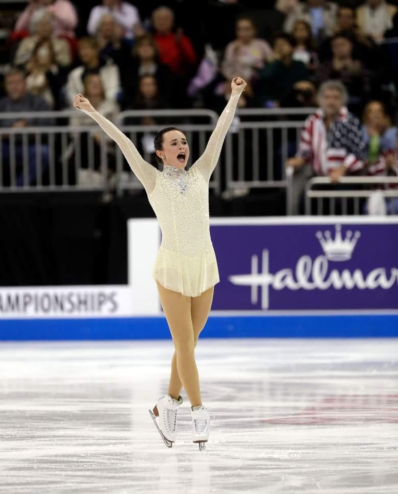Mariah Bell, figure skating, Mariah Bell ice skater, ice skating