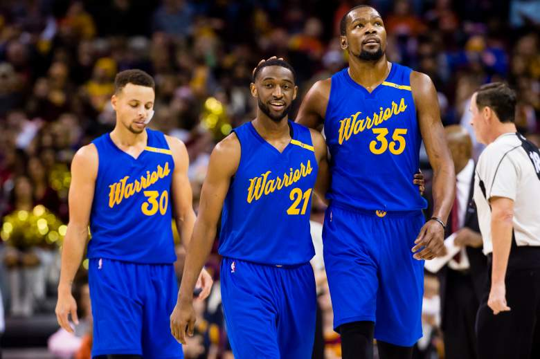 golden state warriors, roster, starting lineup, kevin durant injury