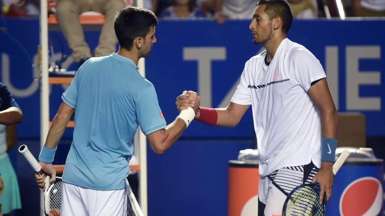 novak djokovic vs nick kyrgios, indian wells masters, bnp paribas open 2017, start time, tv channel, free live stream
