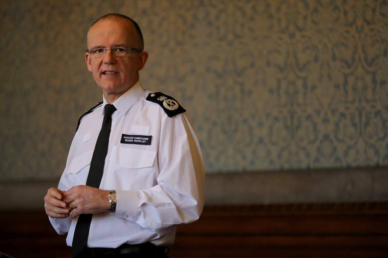 Mark Rowley police, Mark Rowley british police, Mark Rowley speech