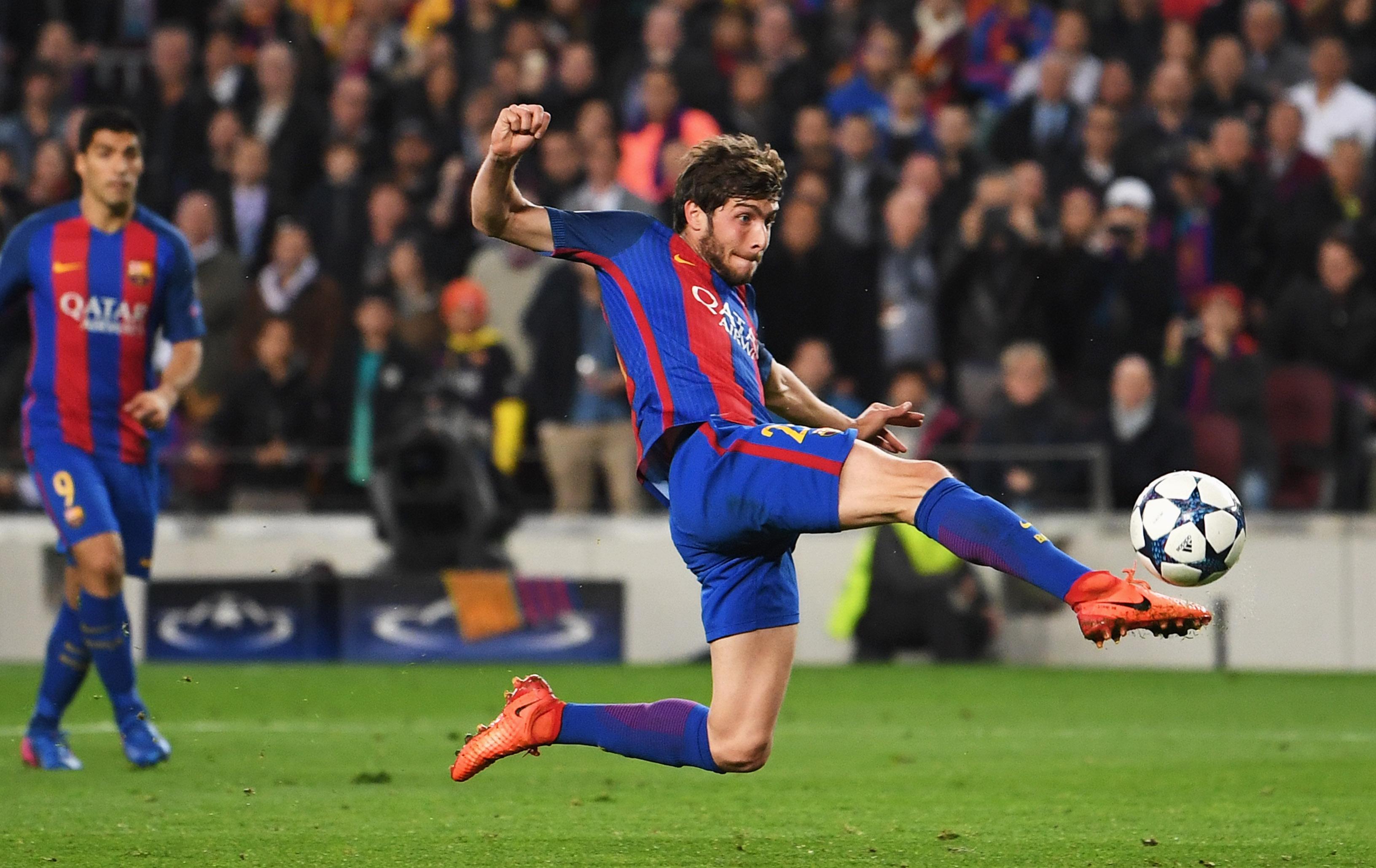 WATCH: Sergi Roberto Goal for Barcelona v PSG | Heavy.com