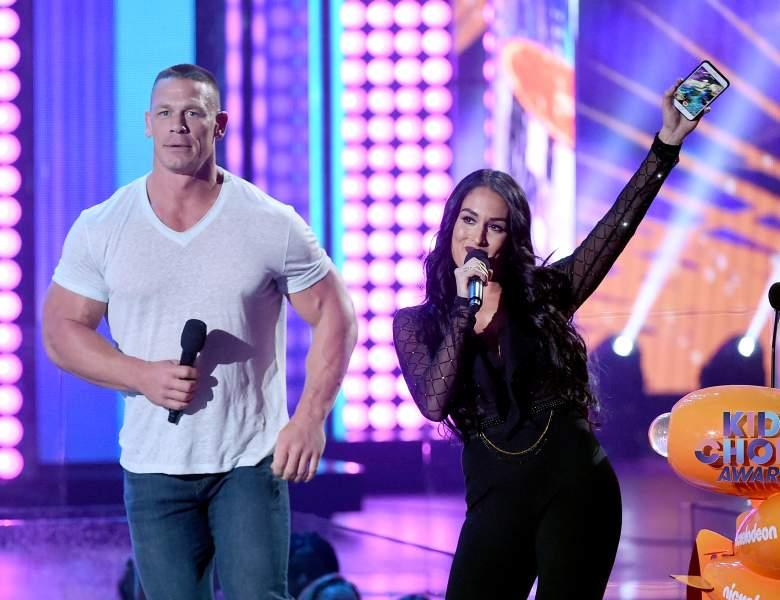 John Cena nikki bella, John Cena nikki bella kids choice awards, John Cena nikki bella dating
