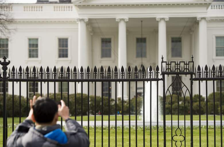 White House fence, White House white house perimeter, white house fence perimeter