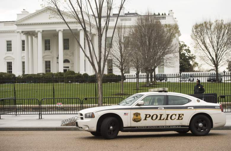 White House security, White House police, police outside white house