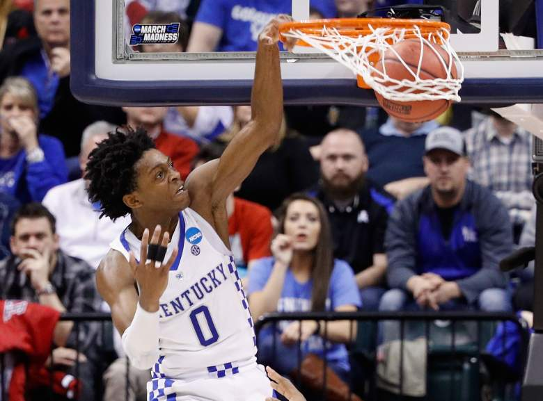 deaaron fox, sixers, nba mock draft, predictions, march madness, top best players, projections