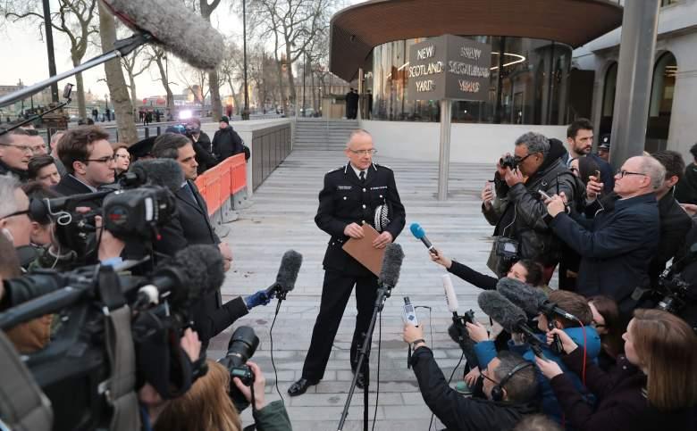 Mark Rowley police, Mark Rowley london, Mark Rowley press conference