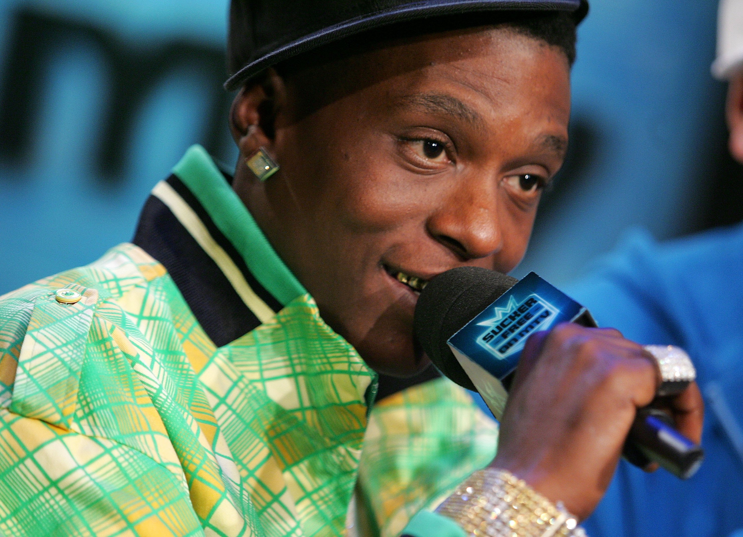 Boosie Badazz appears on MTV's Sucker Free on January 23, 2007 in New York City. (Photo by Bryan Bedder/Getty Images)