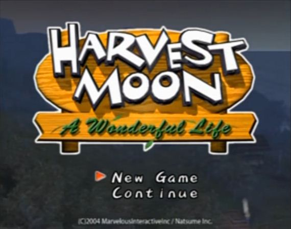 Harvest Moon, PS2, PS4