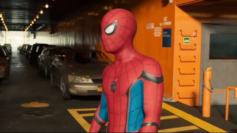 Spider-Man Homecoming trailer 2, Spider-Man Homecoming trailer, Spider-Man Homecoming scene