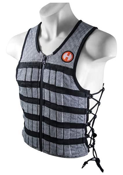 Hyperwear Hyper Vest PRO Unisex 10-Pound Adjustable Weighted Vest