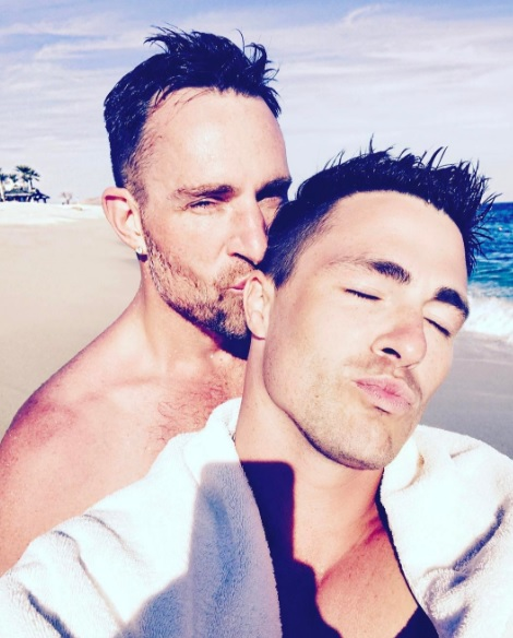 Colton Haynes boyfriend, Jeff Leatham, Colton Haynes married