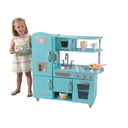 kidkraft vintage kitchen in blue