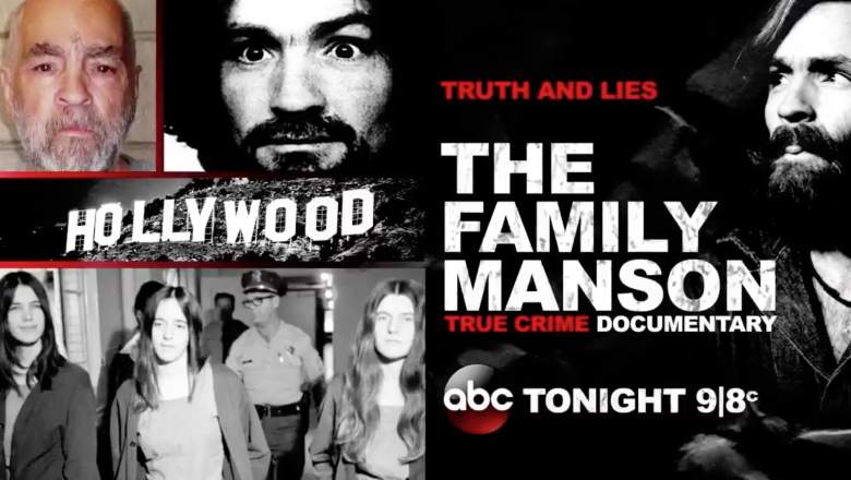 Truth and Lies: The Family Manson Live Stream, Charles Manson Documentary Watch Online for Free, How to watch abc charles manson documentary online, livestream ABC truth and lies the family manson