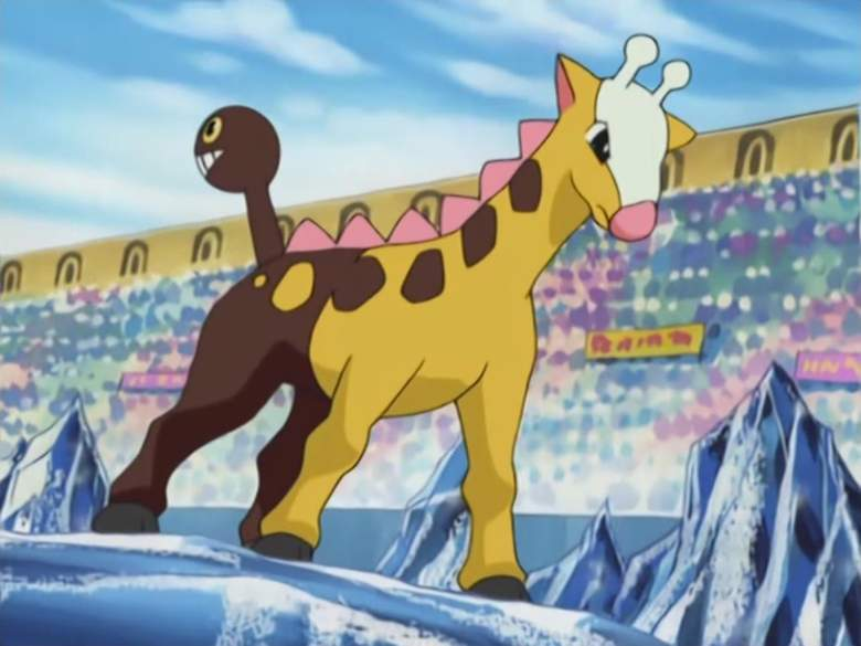 Girafarig pokemon, Girafarig pokemon wiki, Girafarig pokemon go