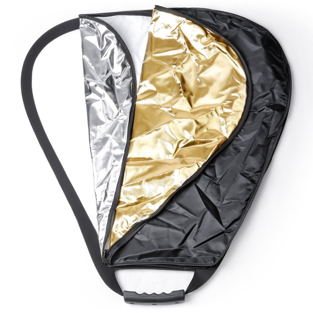Neewer Portable Triangle Reflector, photography reflector, light reflector, reflector photography