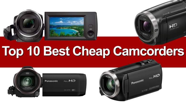best cheap camcorders