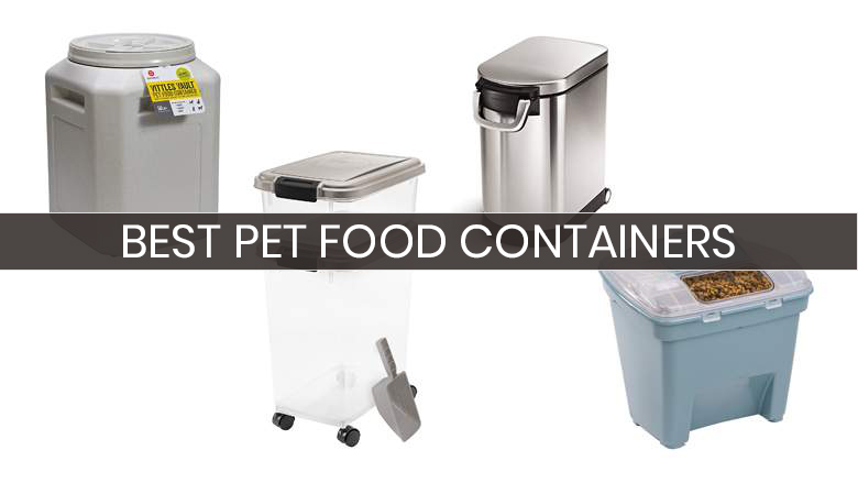 9 Best Pet Food Containers Your Er, Pet Food Storage Containers