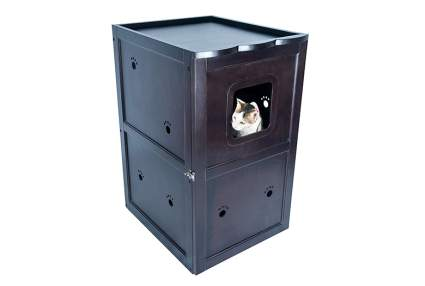 Cat Litter Box Furniture Enclosures