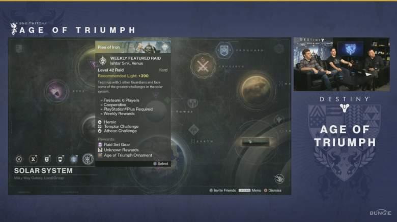 Destiny, Age of Triumph