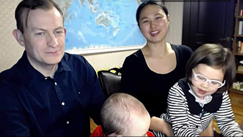 Robert Kelly wife, Kin Jung-A, BBC dad video, BBC dad interview