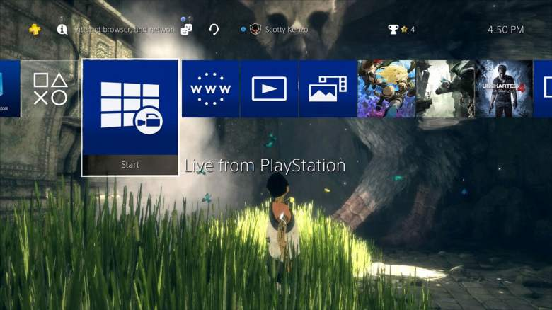PS4, PS4 Pro, Update 4.50