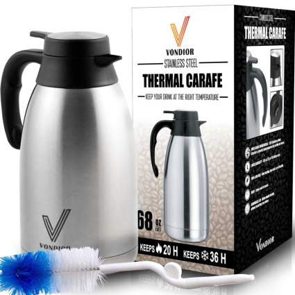 thermal coffee carafe