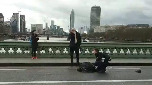 london terror attack, westminster bridge terror attack, westminster bridge video