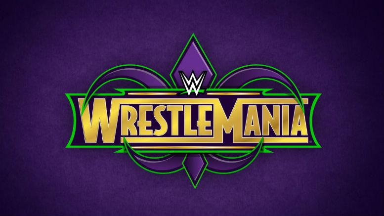 WrestleMania 34 logo, WrestleMania 34, WrestleMania 34 wwe logo