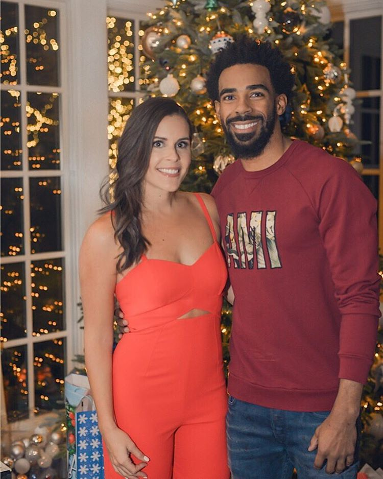 Mike Conley with beautiful, Wife Mary Peluso