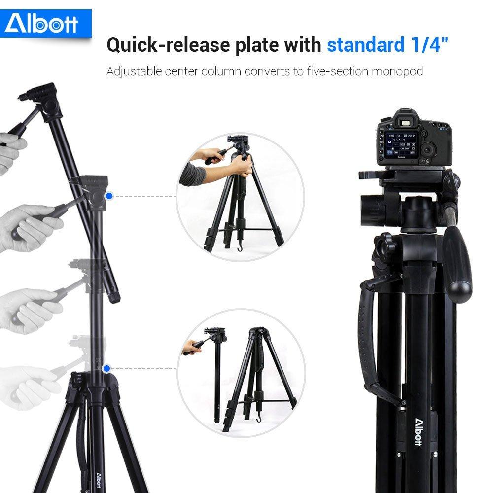Albott Travel Tripod, best tripod, best camera tripod, tripod stand