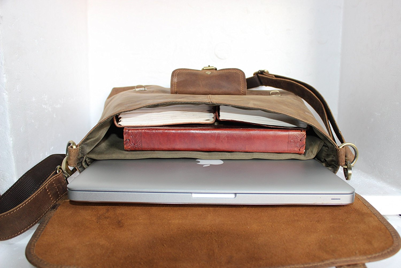 Handolederco Leather Laptop Bag, best leather camera bags, leather bags for camera, leather camera backpack