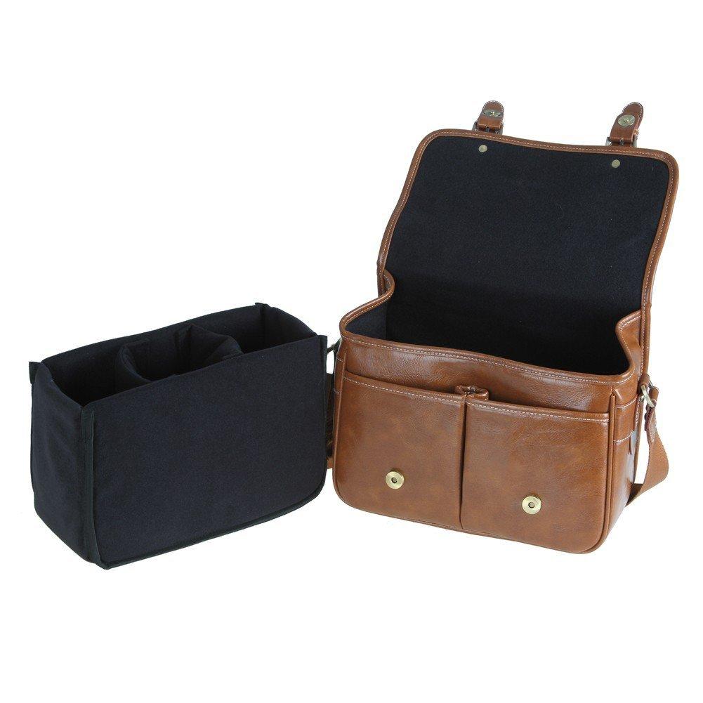 Koolerton Leather Camera Bag, best dslr bag, best dslr camera bag, best dslr camera backpack