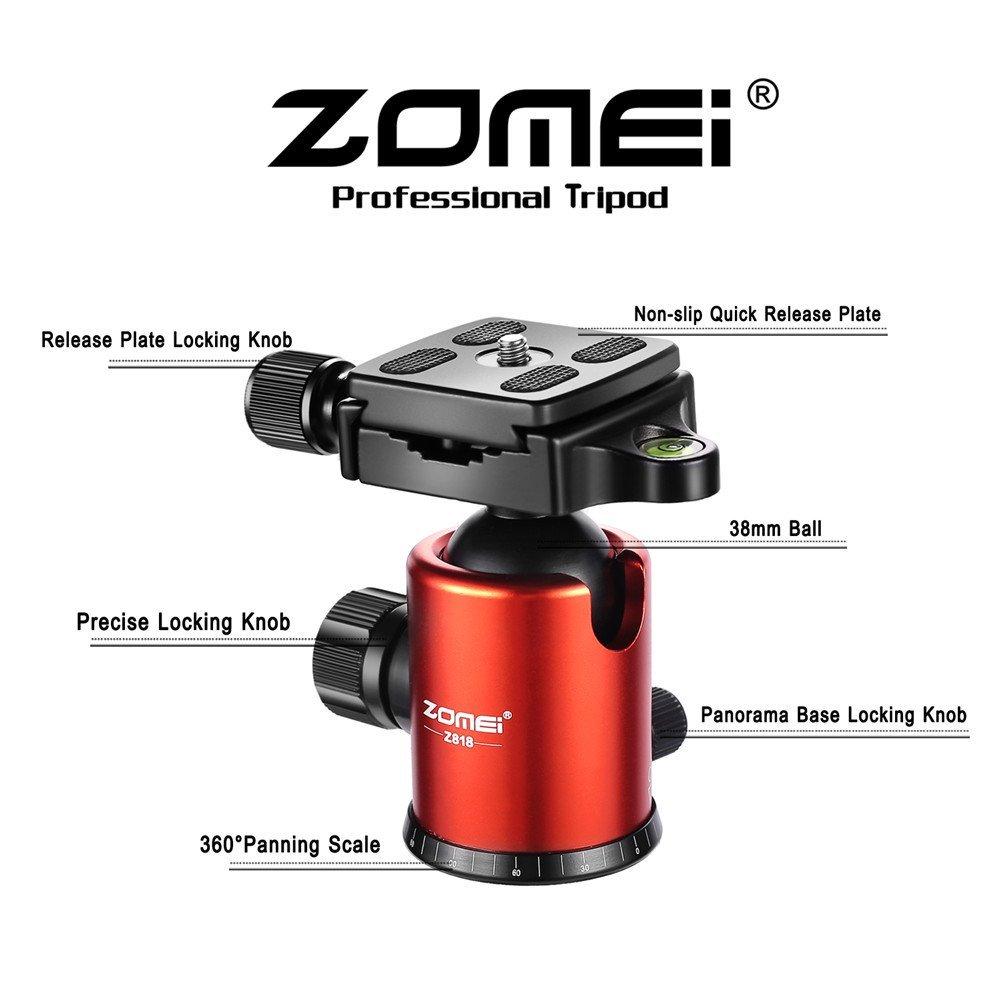Zomei Lightweight Travel Tripod, best tripod, best camera tripod, tripod stand