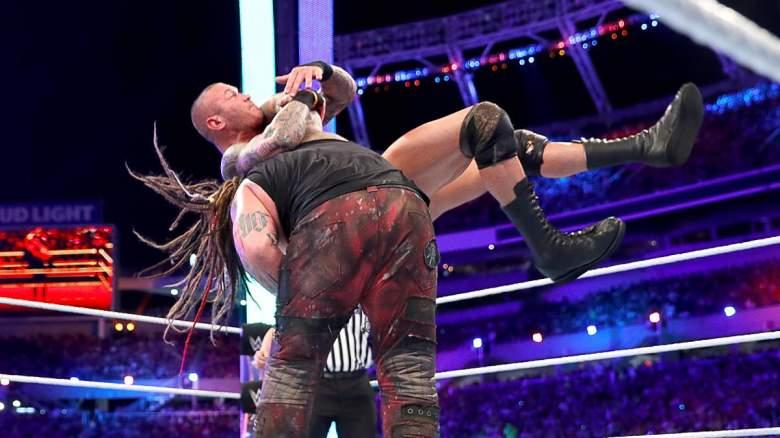 Randy Orton bray wyatt, Randy Orton bray wyatt wrestlemania, randy orton wrestlemania