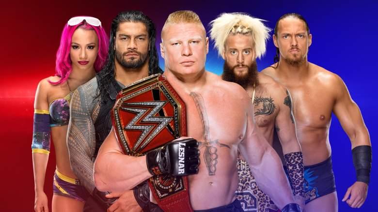 WWE Draft 2017, WWE superstar shake up, wwe superstar shake up 2017