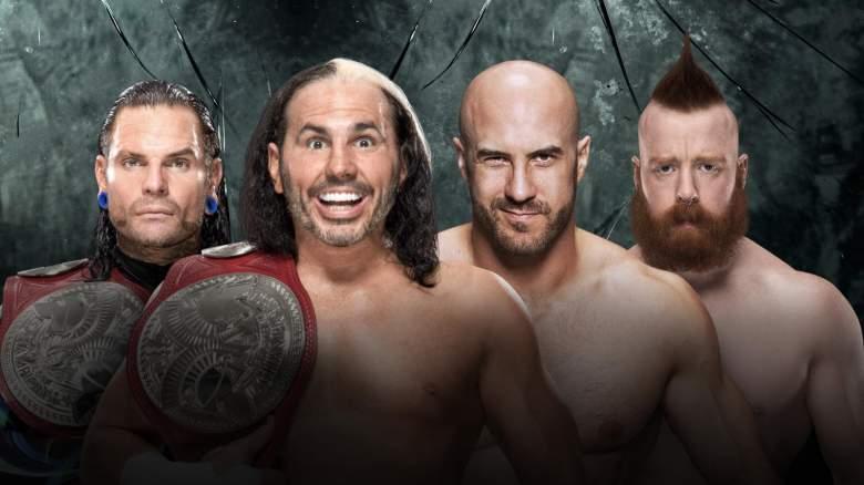 The Hardy Boyz Cesaro Sheamus, The Hardy Boyz Cesaro and Sheamus, The Hardy Boyz paybacj