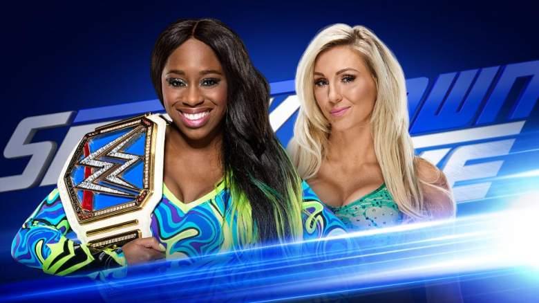 Naomi Charlotte wwe, Naomi Charlotte match, Naomi Charlotte smackdown live