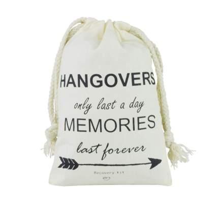 hangover kit muslin bags
