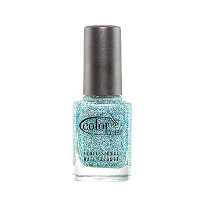 Blue color club polish